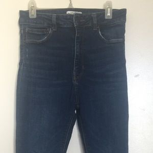 Zara Hugh Waited Ankle Jeans